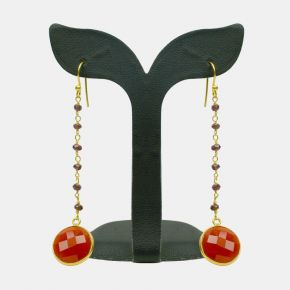 Gold Stone Earring GSE0003