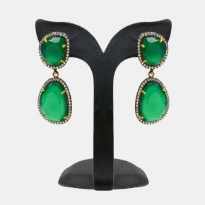 Gold Stone Earring GSE0007