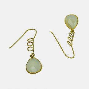 Gold Stone Earring GSE0011