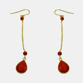 Gold Stone Earring GSE0027