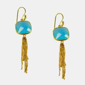 Gold Stone Earring GSE0037