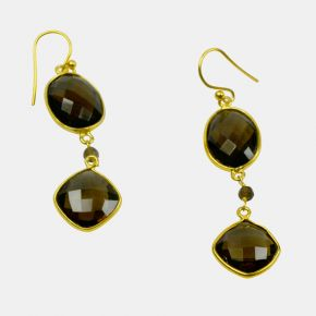 Gold Stone Earring GSE0040