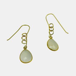 Gold Stone Earring GSE0053