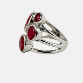 925 Silver Stone Ring SSR0014