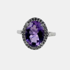 925 Silver Stone Ring SSR0015
