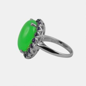 Silver Stone Ring - SSR0007