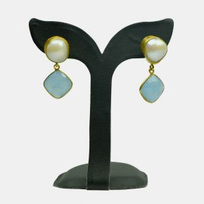 Gold Stone Earring GSE0009