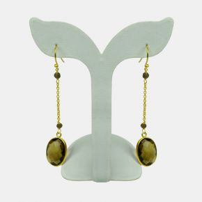 Gold Stone Earring GSE0014
