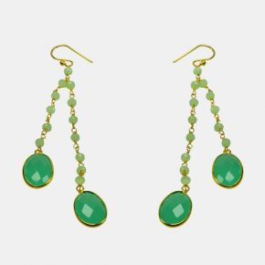Gold Stone Earring GSE0025