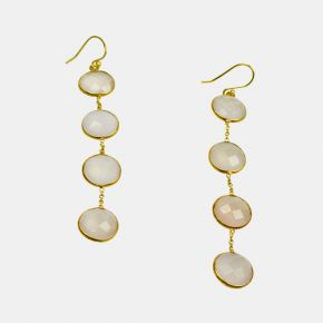 Gold Stone Earring GSE0048