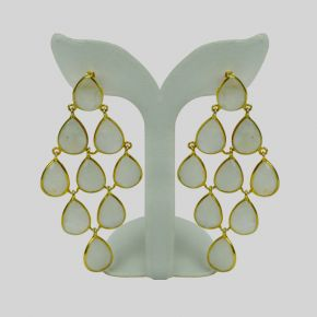 Gold Stone Earring GSE0049