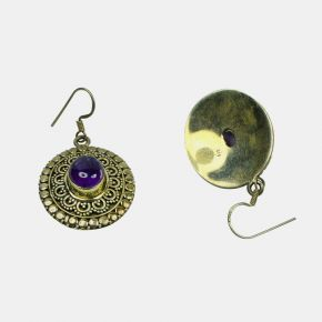 Gold Stone Earring GSE0054