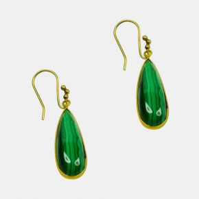 Gold Stone Earring GSE0057