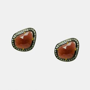 Gold Stone Earring GSE0062