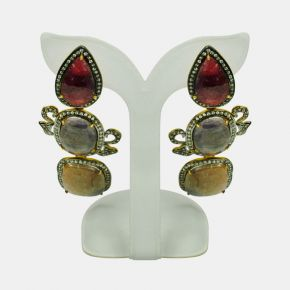 Gold Stone Earring GSE0063