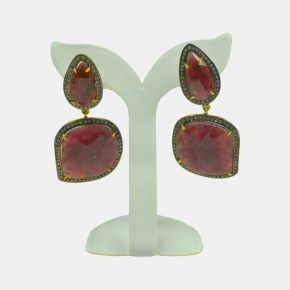 Gold Stone Earring GSE0073