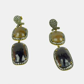 Gold Stone Earring GSE0077