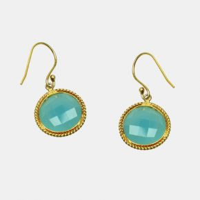 Gold Stone Earring GSE0087