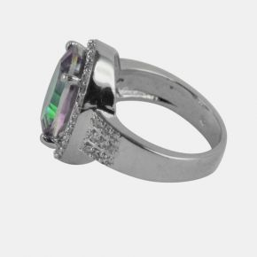 925 Silver Stone Ring SSR0012