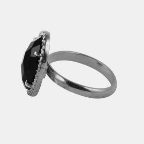 925 Silver Stone Ring SSR0008